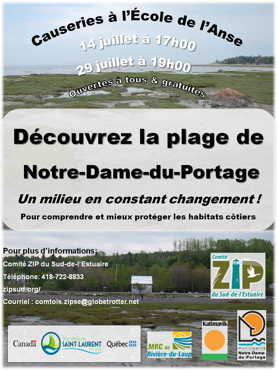 affiche causerie NDP