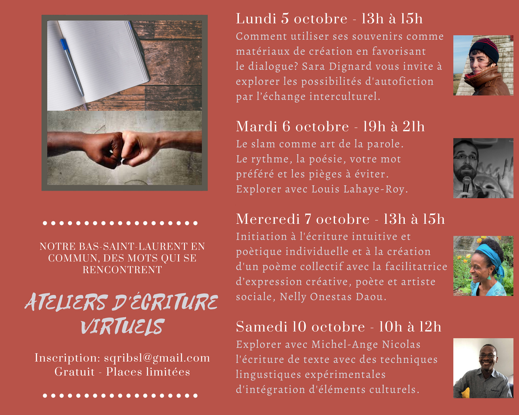 Programme semaine relations interculturelles 2020